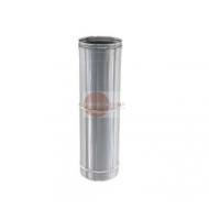 ELEMENTO REGOLABILE DA 300 A 500 MM - IN ACCIAIO INOX - ALTEZZA UTILE DA 340 A 540 mm