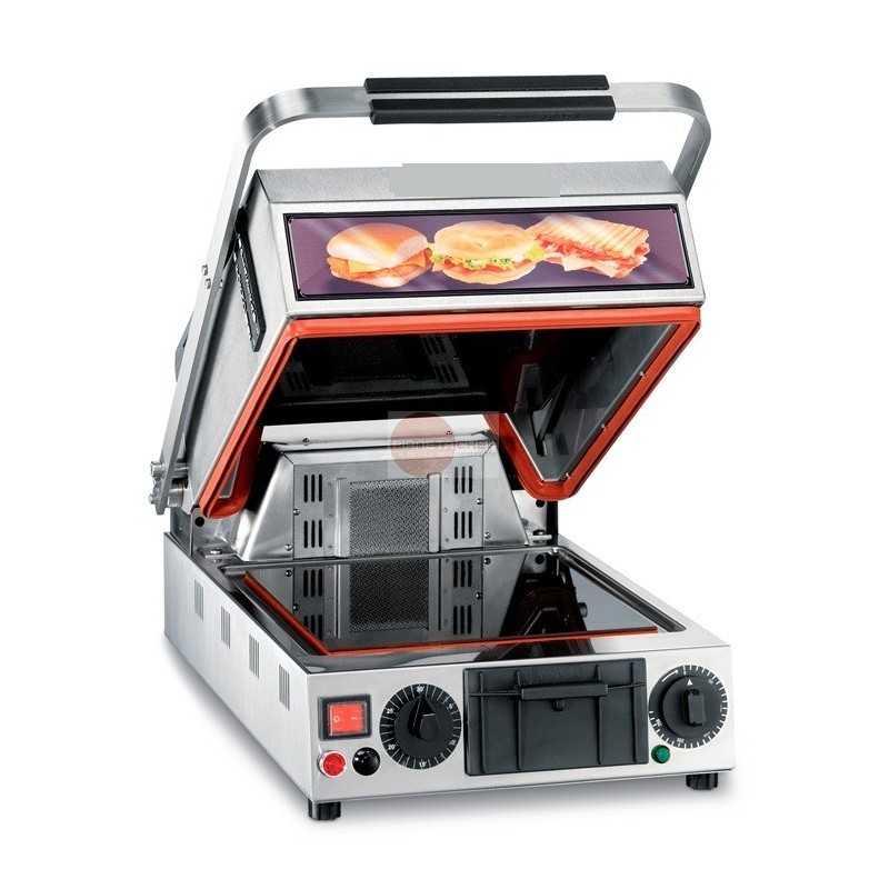 Piastra forno vetroceramica piani lisci con doppia - Forno con funzione pizza ...