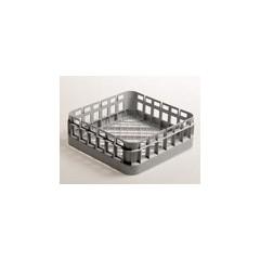 CESTO BICCHIERE QUADRATO 40x40 - FONDO PIANO - H 15 cm