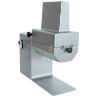 INTENERITRICE IN ACCIAIO INOX - LAME 2 x 64 - CAPACITA' TAGLIO 150x20 mm - POTENZA 0,15 KW TRIFASE - DIMENSIONI CM L44xP17xH48