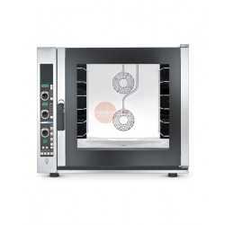 FORNO ELETTRICO PROFESSIONALE-CONVENZIONE VAPORE -DIGITALE-CAPACITA' 6 TEGLIE 600X400 MM -POTENZA 8,4 -DIMEN. (LxPxH mm) 932x926x824