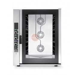 FORNO ELETTRICO PROFESSIONALE-CONVENZIONE VAPORE -DIGITALE-CAPACITA' 10 TEGLIE 600X400 MM -POTENZA 16 -DIMEN. (LxPxH mm) 932x926x1144