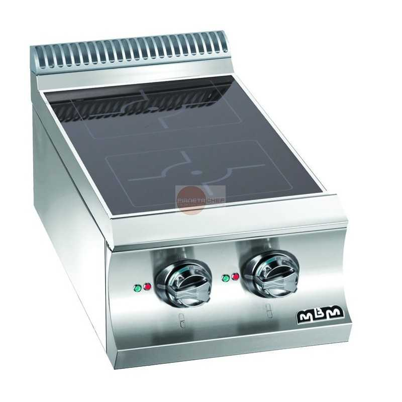Cucina a induzione da banco 2 induttori da 5 kw potenza totale - Cucina a induzione ...