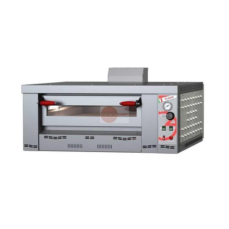 Forno a gas per pizzeria 1 camera cottura capacita 39 4 pizze da - Cottura forno a gas ...
