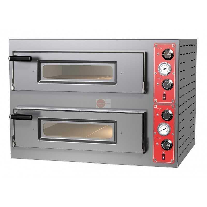 Forno elettrico per pizza comandi meccanici 2 camere cottura c - Forno elettrico per pizze ...