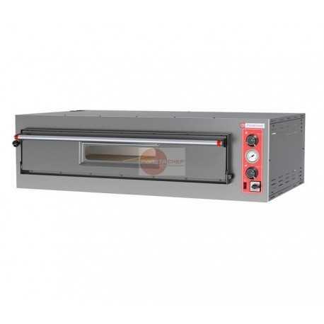 Forno elettrico pizzeria 1 camera di cottura capacita for Cottura pizza forno elettrico