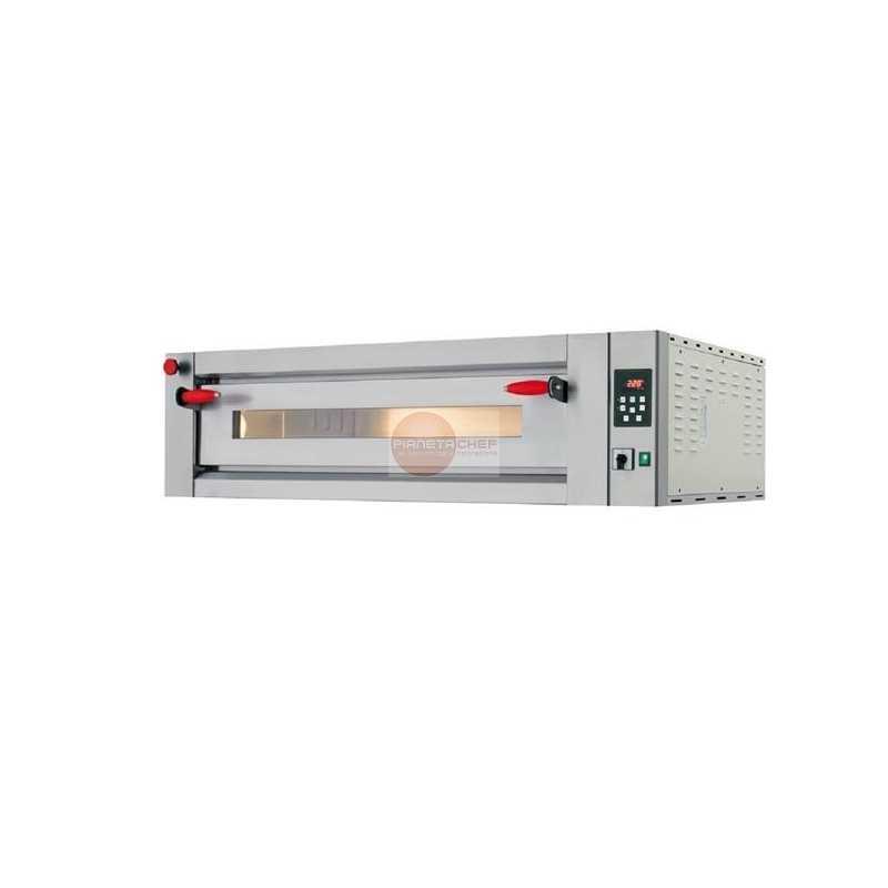 Forno pizza elettrico comandi digitali 1 camera for Cottura pizza forno elettrico
