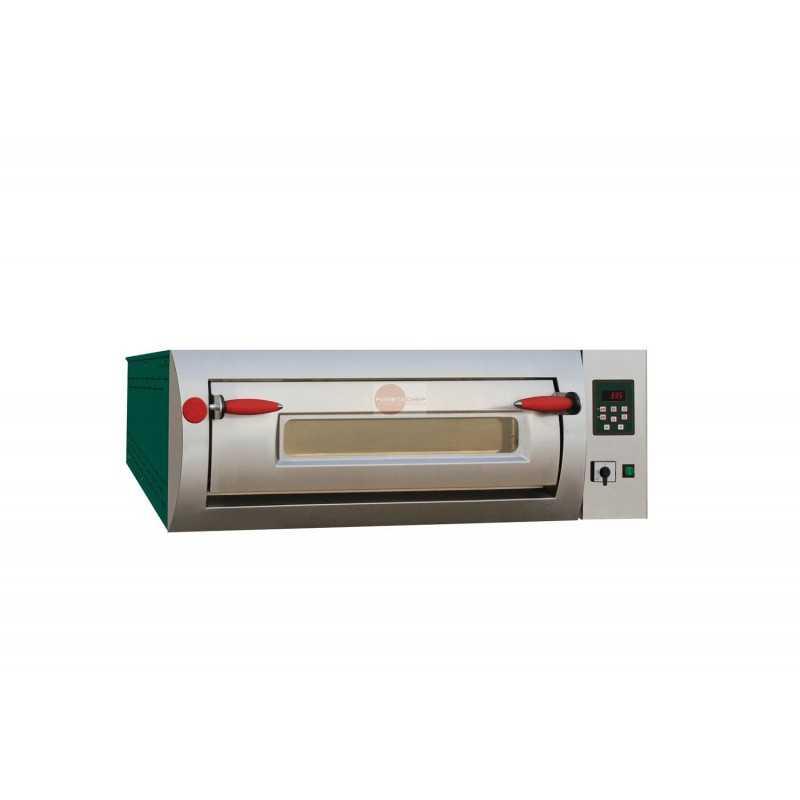 Forno elettrico pizzeria digitale 1 camera di cottura for Cottura pizza forno elettrico