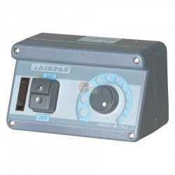 REGOLATORE DI VELOCITA' - 8 AMP. - DIMENSIONI CM L16 X P8 X H 9,5 - CON TASTO ON/OFF + INTERRUTTORE LUCE + CONTATTO VALVOLA GAS