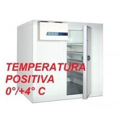 CELLE FRIGORIFERE PER PESCHERIA TEMPERATURA POSITIVA